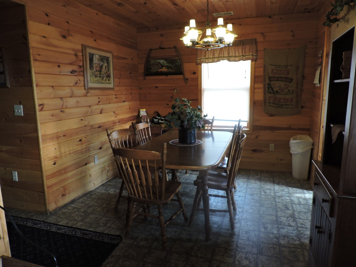 Country Themed Dining Area